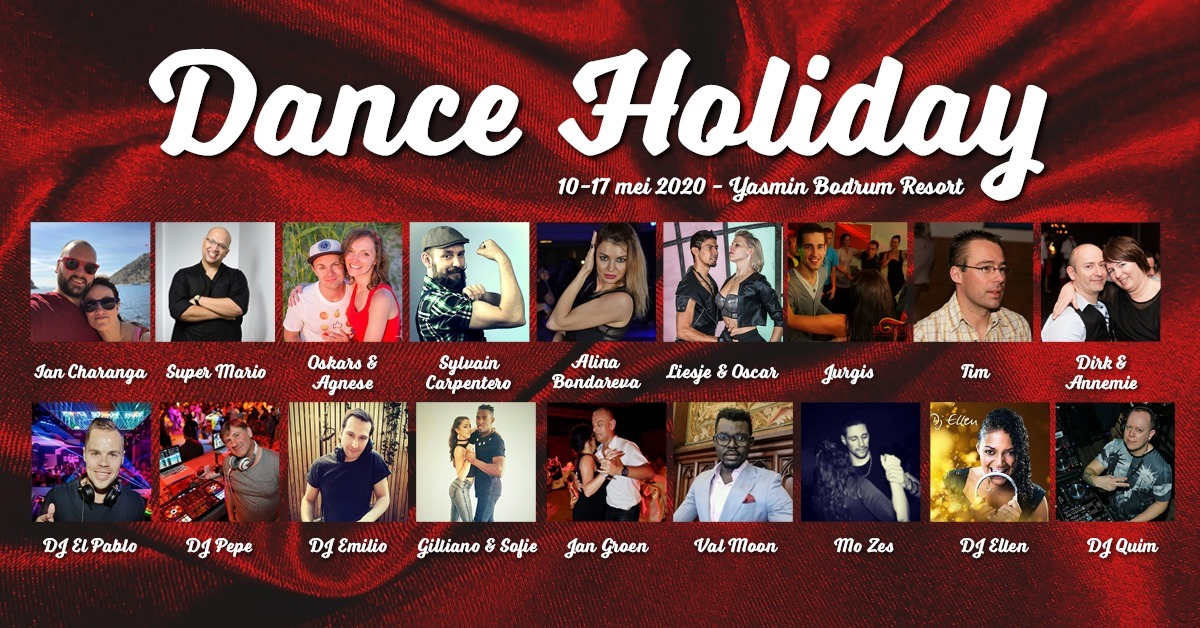 Dance Holiday Banner