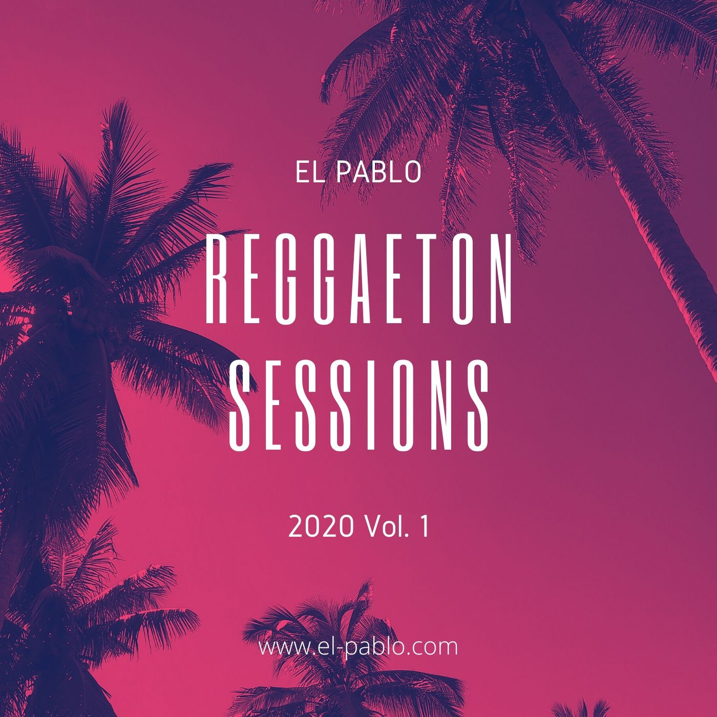 CD cover Reggaeton Sessions 2020 Vol. 1